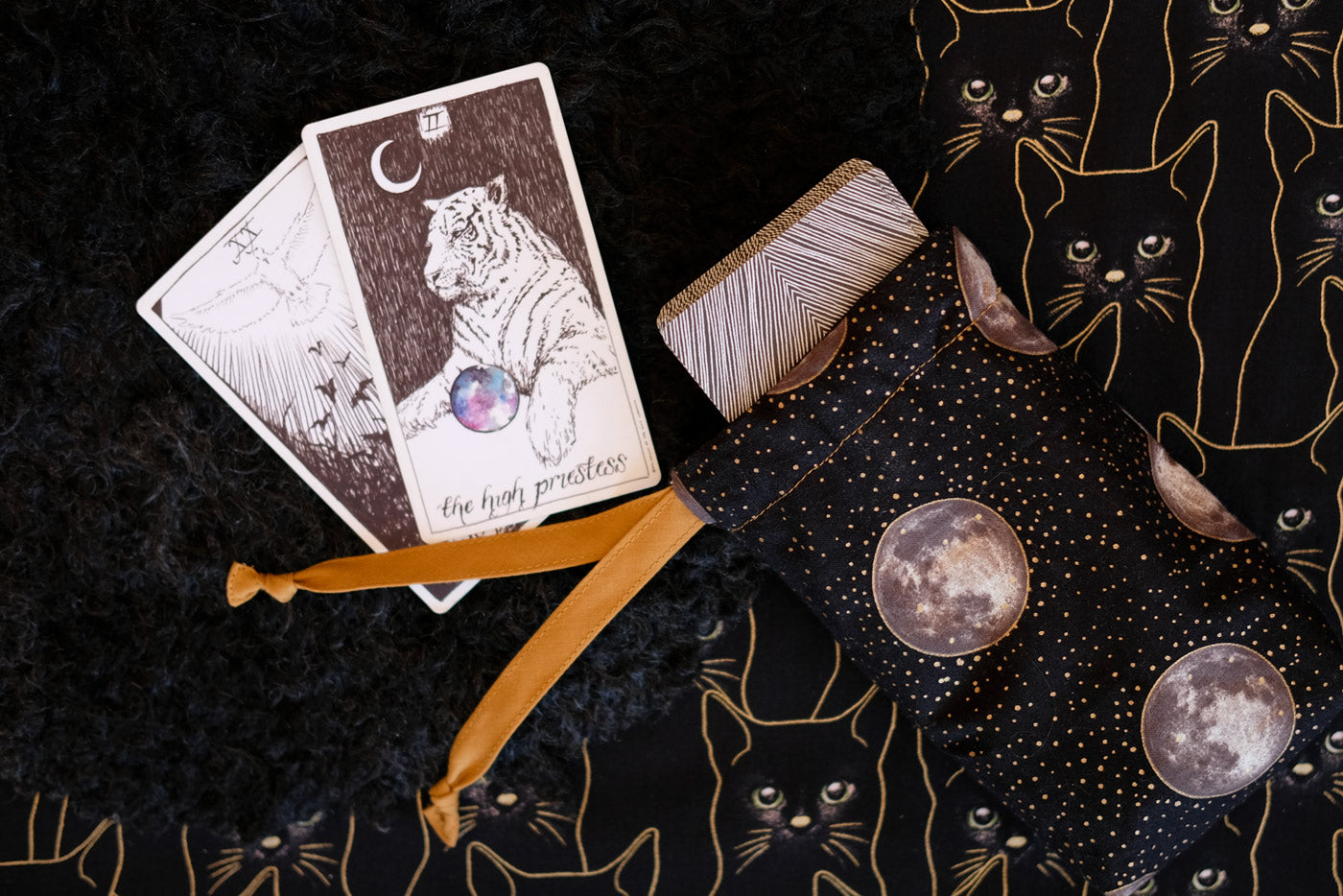 Fancy Tiger Crafts New Moon Protection Pouch