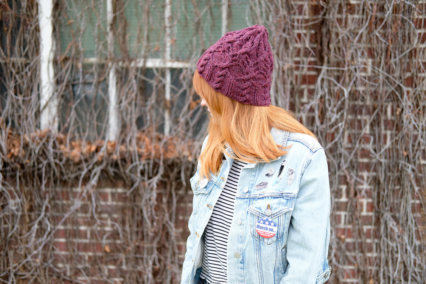 Brooklyn Tweed Cleridae Hat