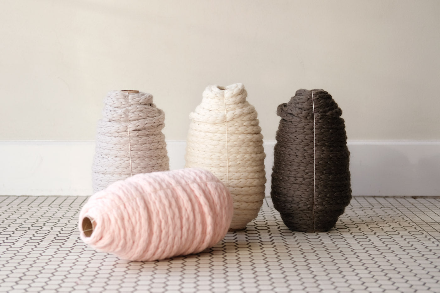 Woolstok Yarn in all four colorways