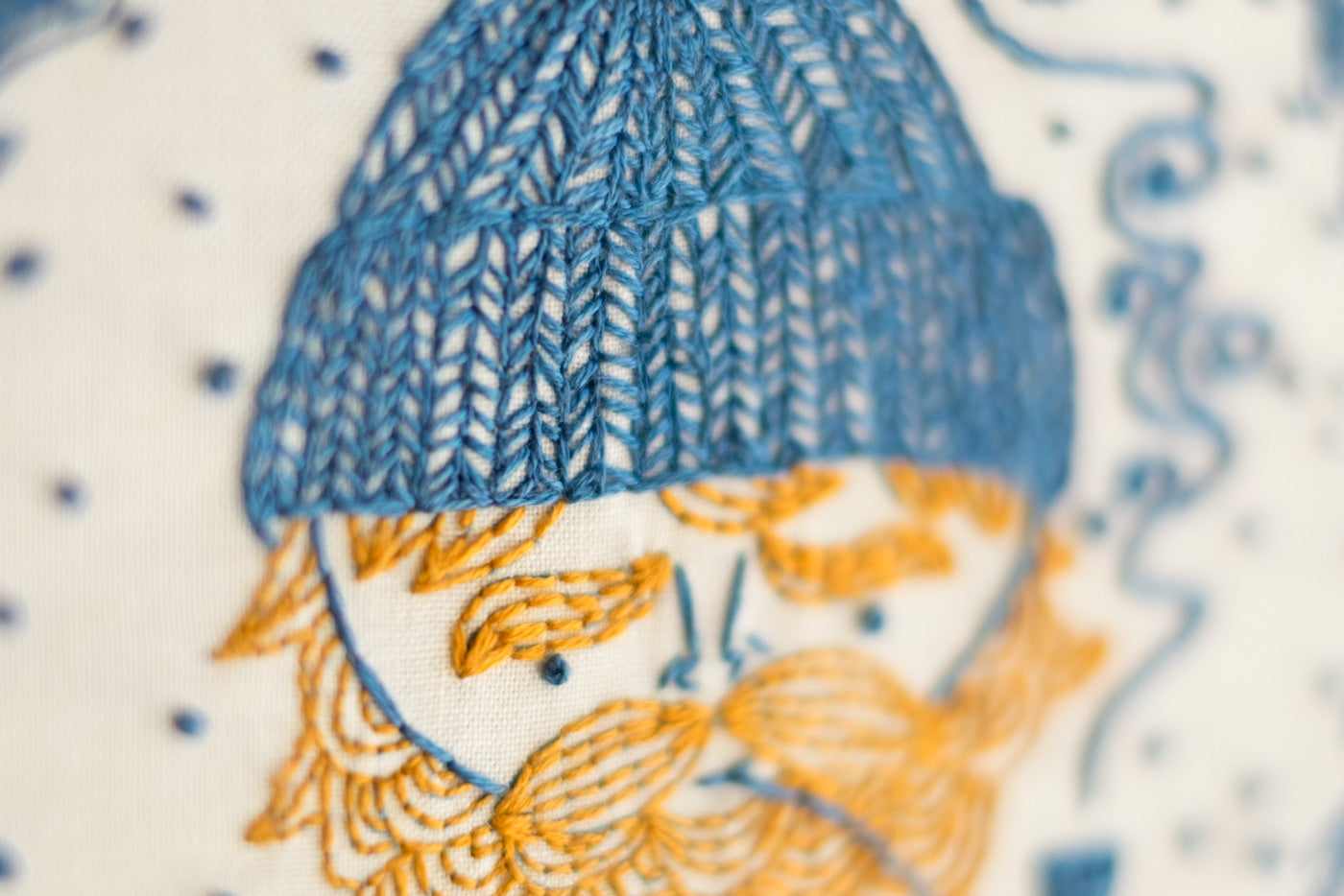 Detail of the Sea Captain's Hat