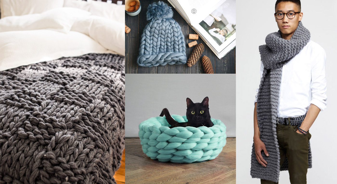 Examples of fantastic Chunky Knit items