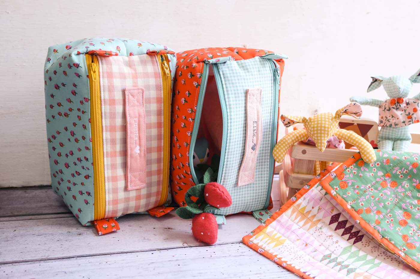 double zipper pouch sewing pattern review