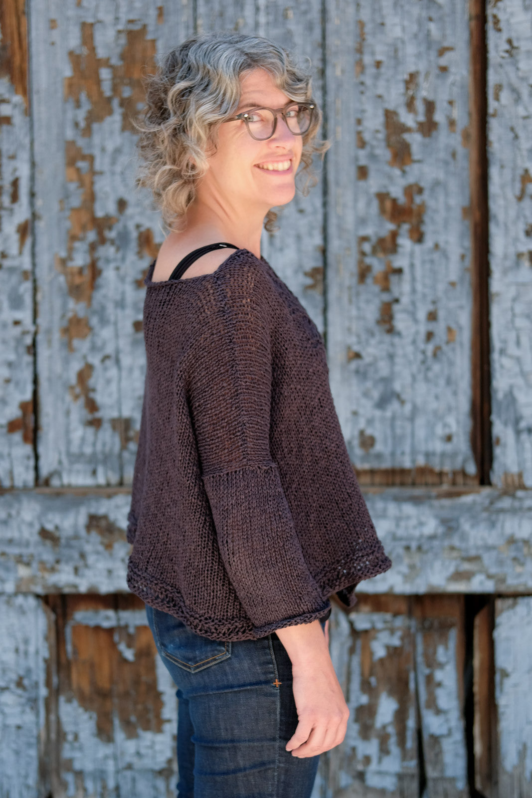 Side view of the Deschain Sweater