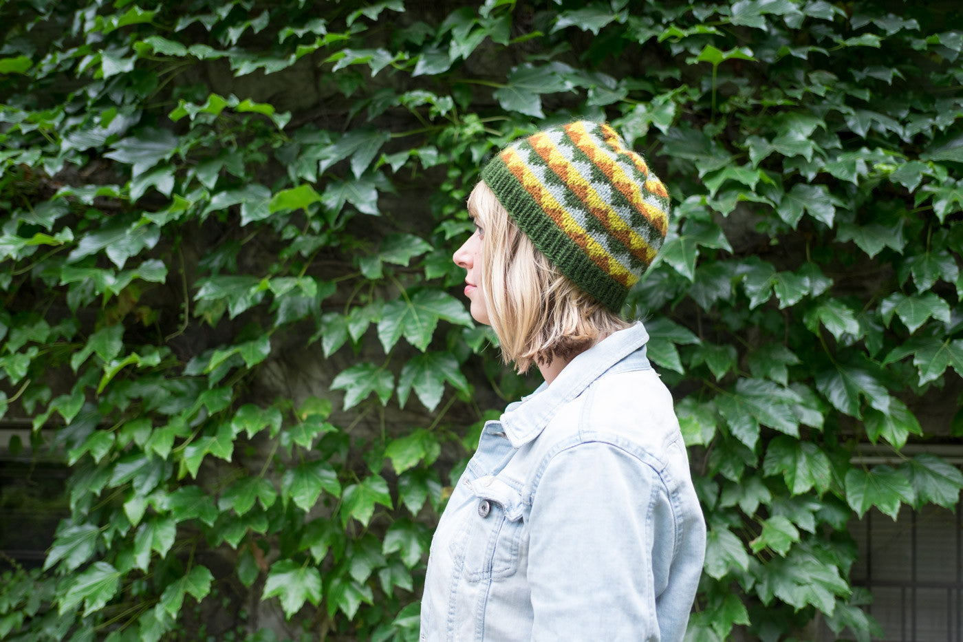 Amber's Eshaness Hat from Wool Journey: Shetland
