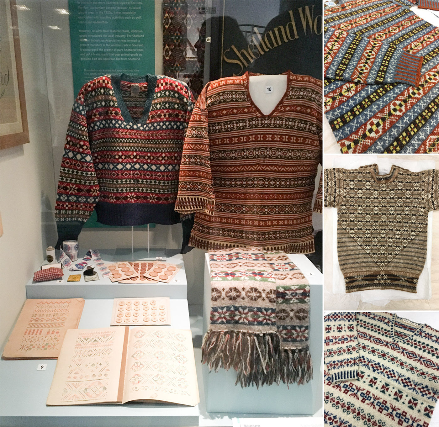Shetland Museum and Archives Fair Isle Sweaters