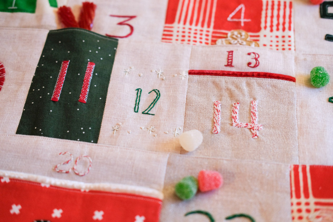 Fancy Advent Calendar Detail