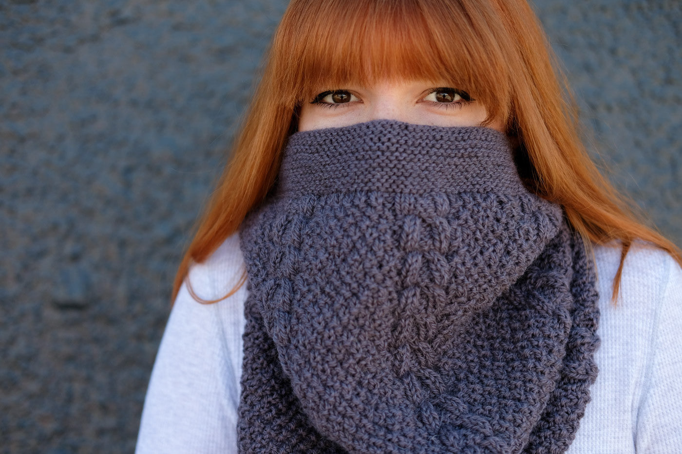 Lauren's Furrow Cowl from Woolens