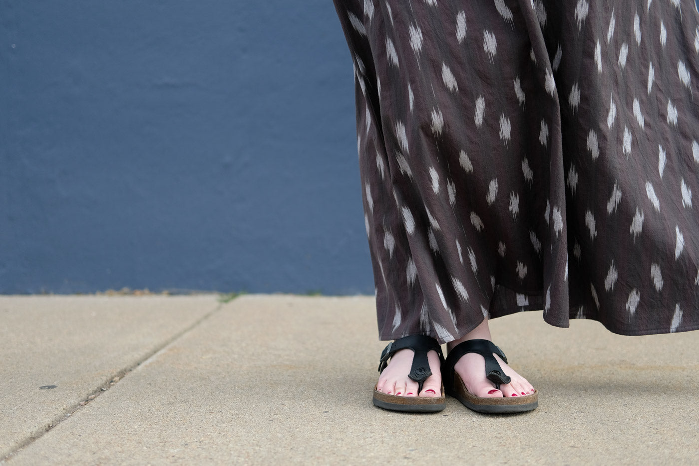 Hemline of Heather's Breezy Maxi Brome