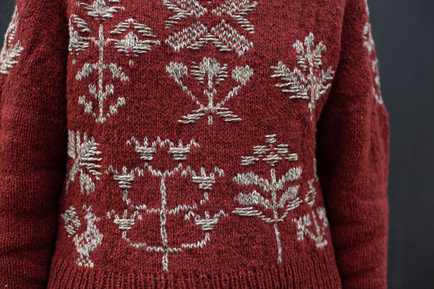 Close up sweater