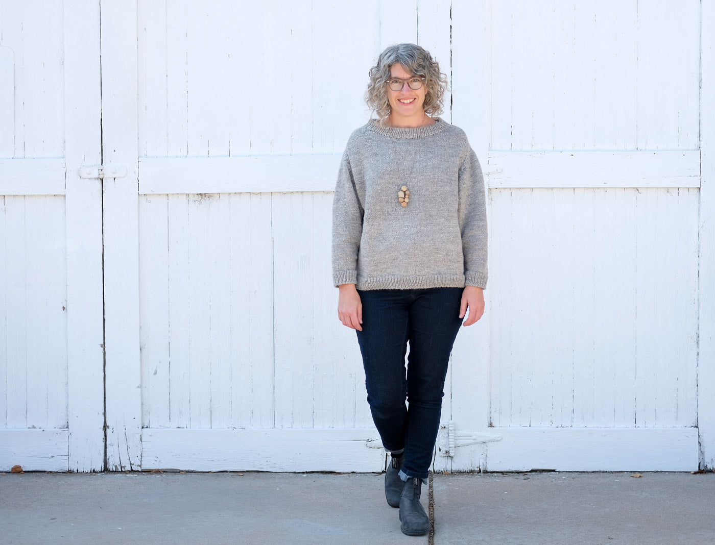 Jaime's Fancydrygoods Junegrass KAL Sweater