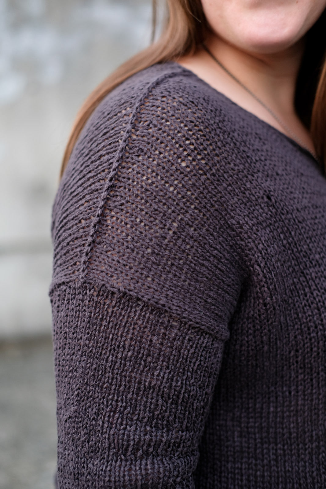 Reverse 3-needle bind off shoulder