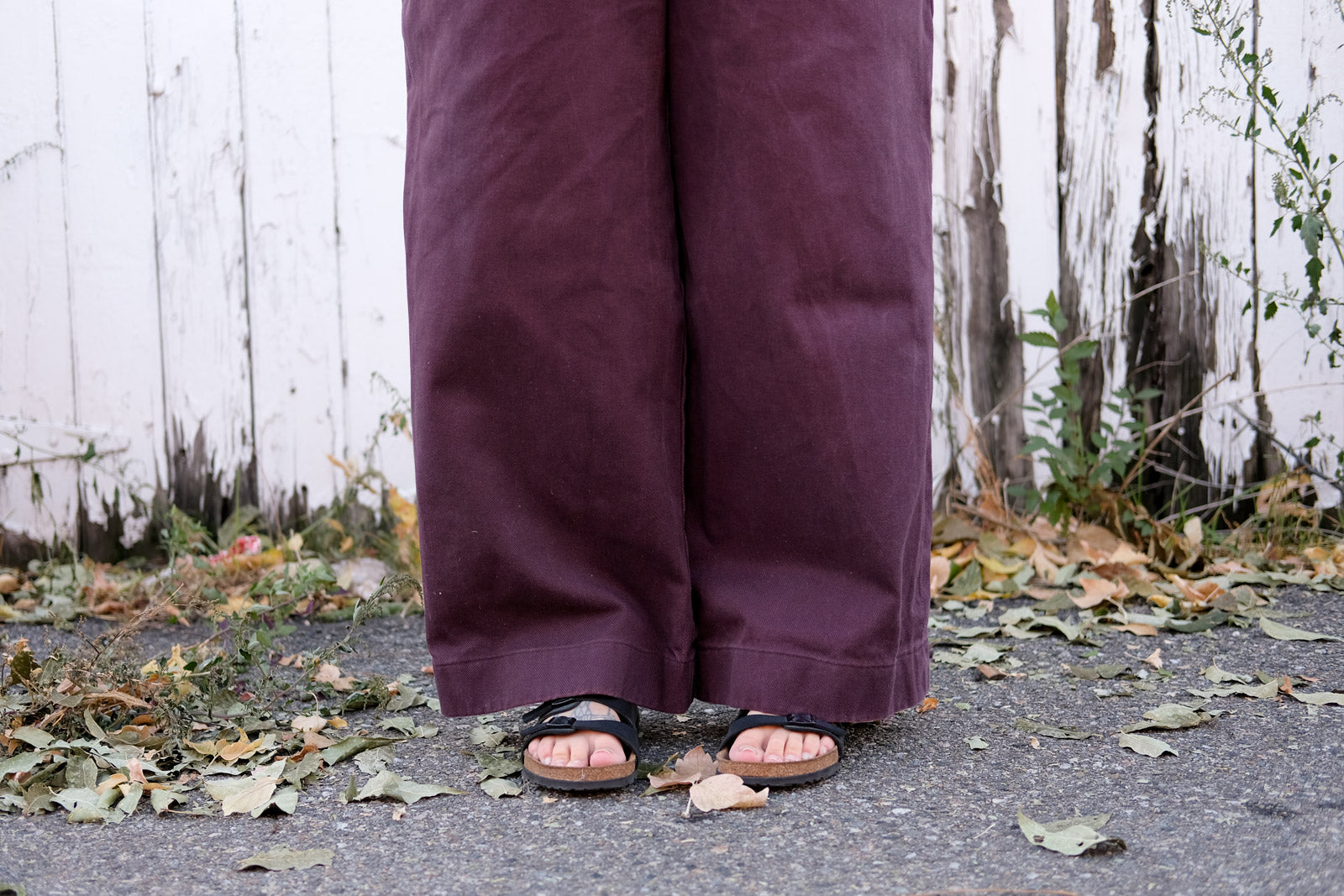 Hemline of the Jenny Trousers