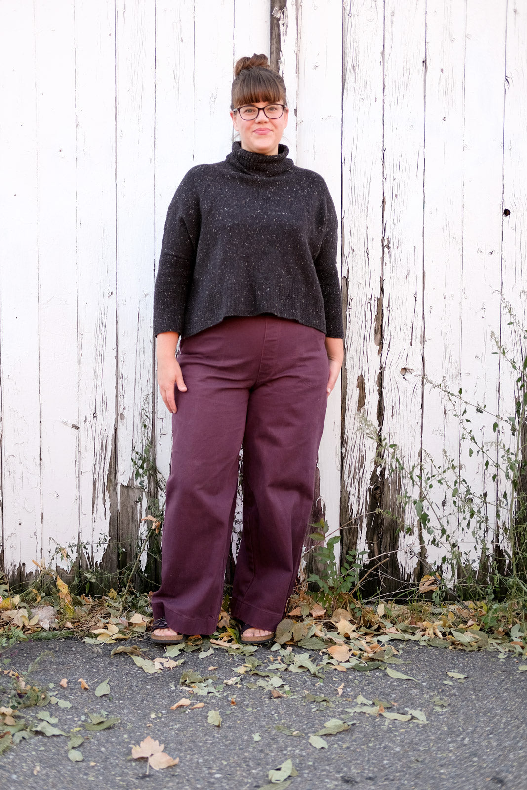 Kaylee's Brodeaux Jenny Trousers from Closet Case Patterns