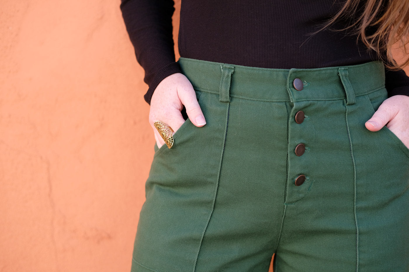 Lander Pant pocket detail