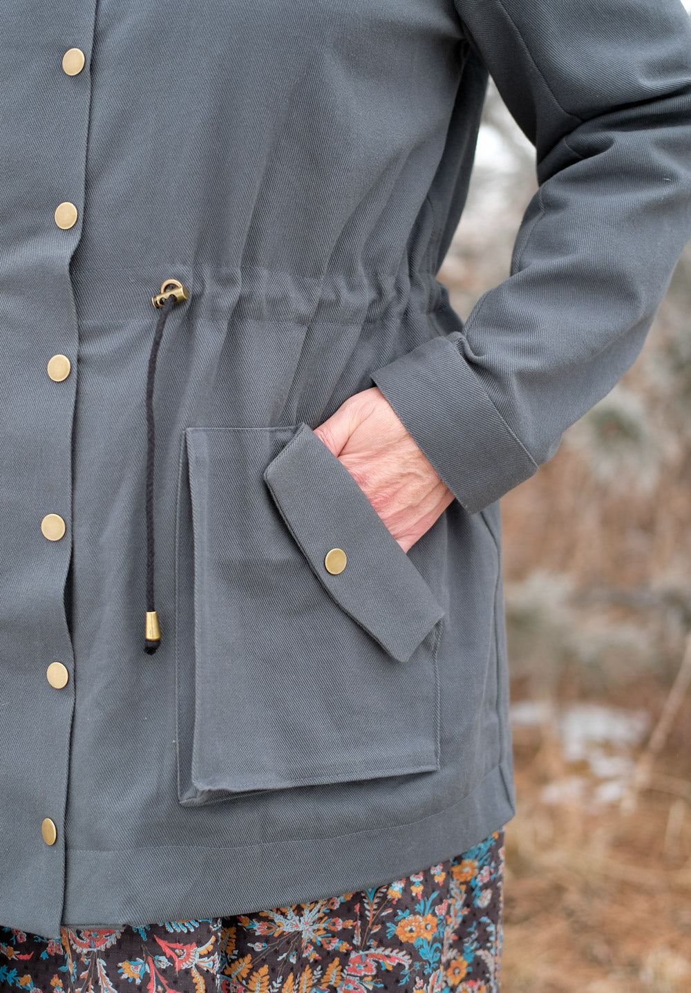 Pocket Detail of the Kelly Anorak Jacket