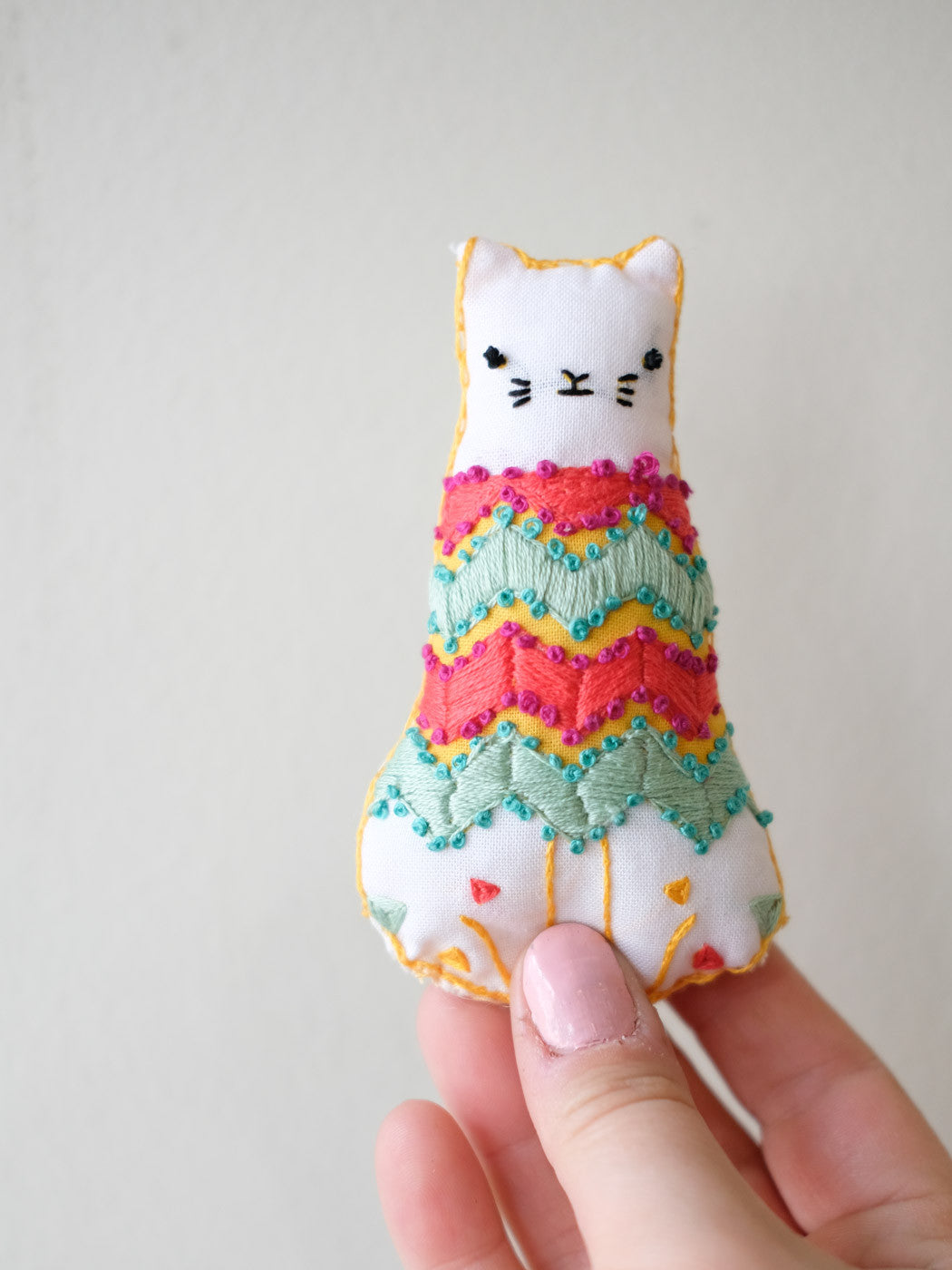 Tiny Kiriki Embroidered Animals