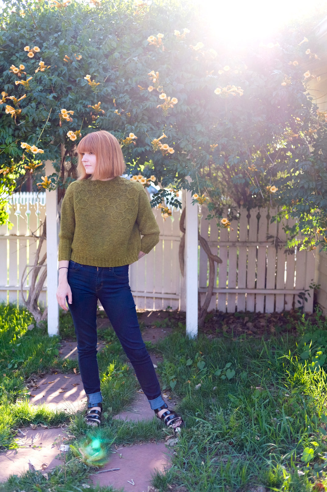 Andrea Mowry's Wool and Honey Sweater
