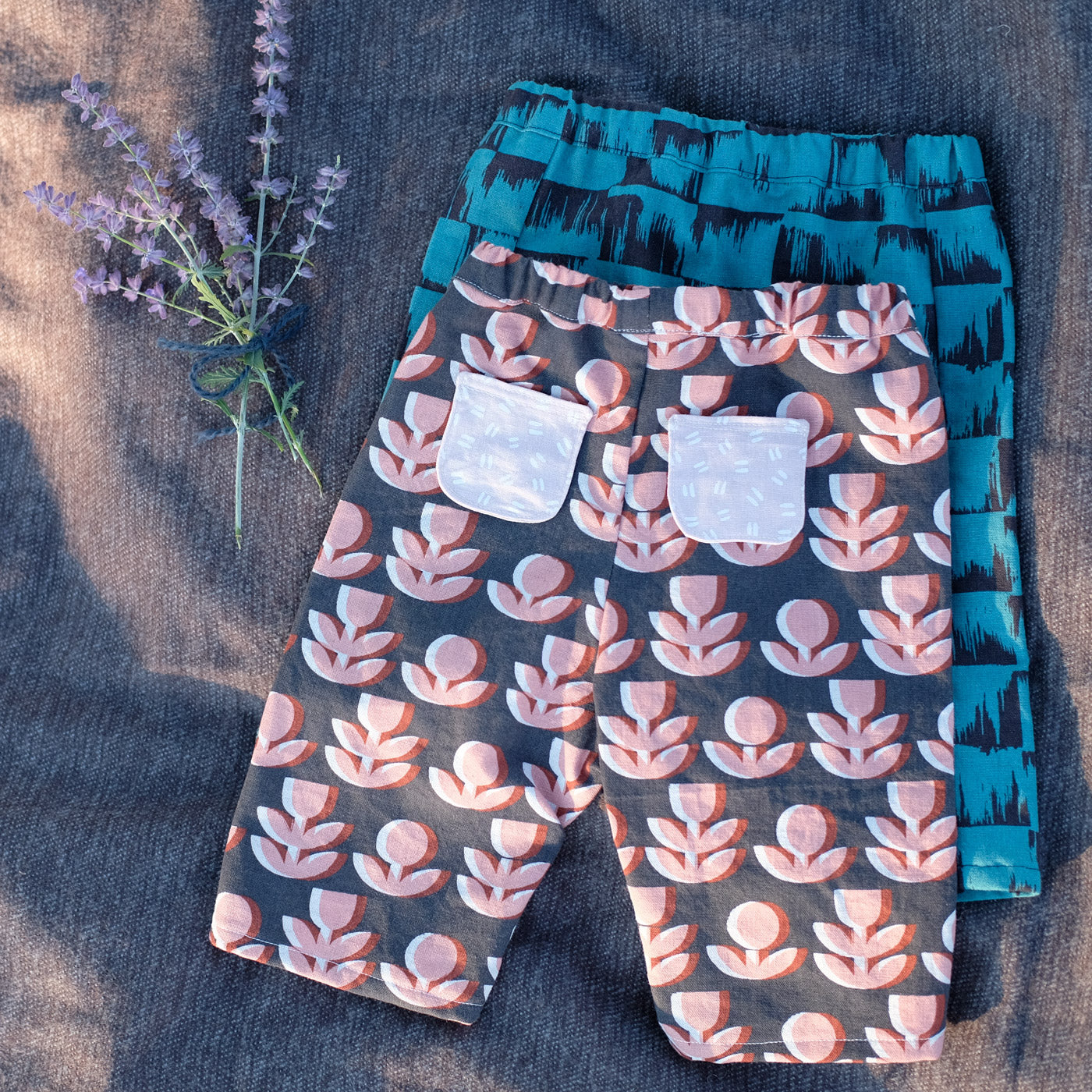 Lullaby Layette Pants by Oliver + S