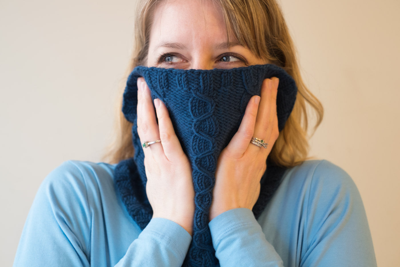 Lizz's Cozy Lansbury Cowl by Very Shannon