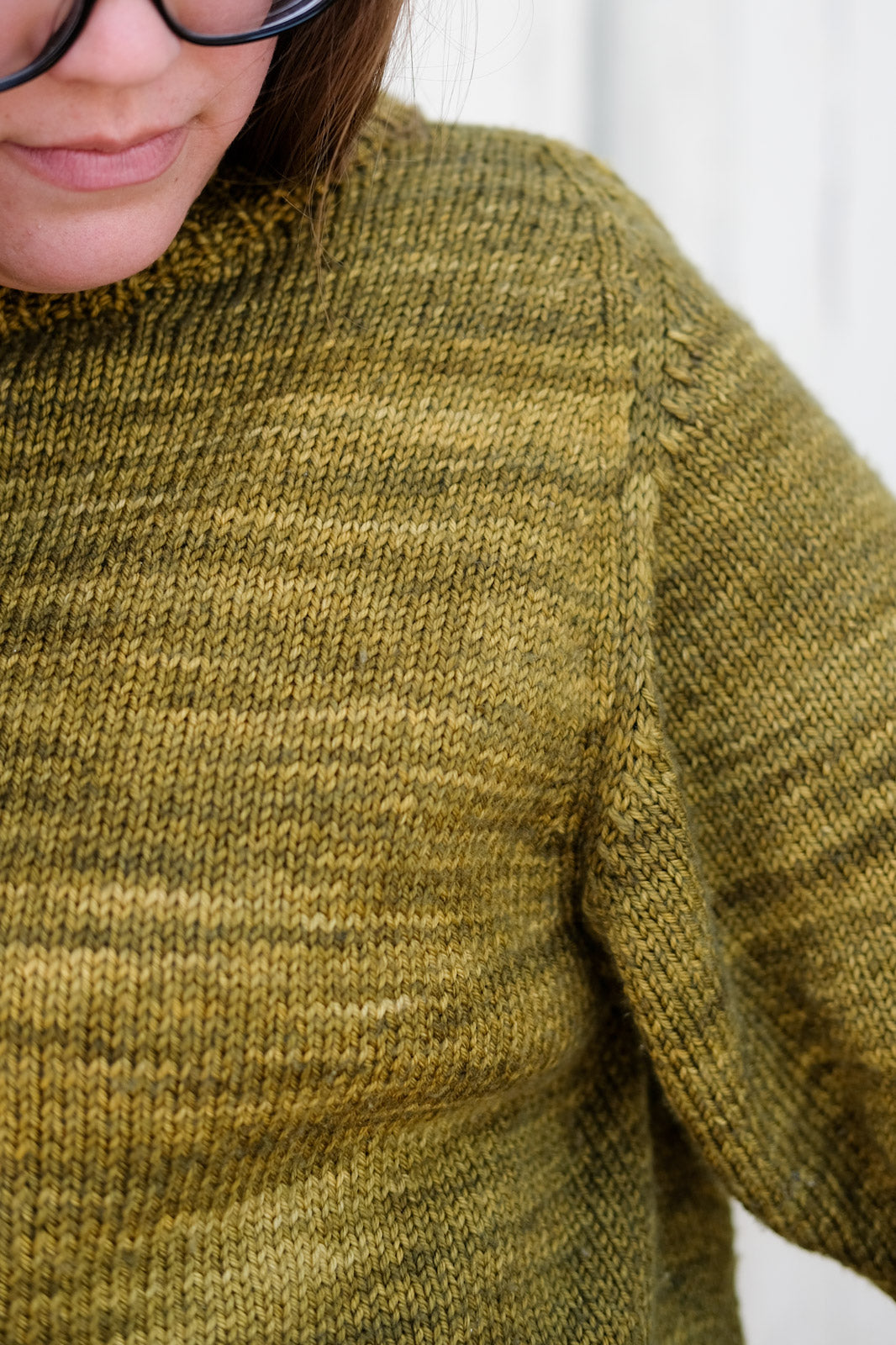 Ample Armhole on the Cline Sweater