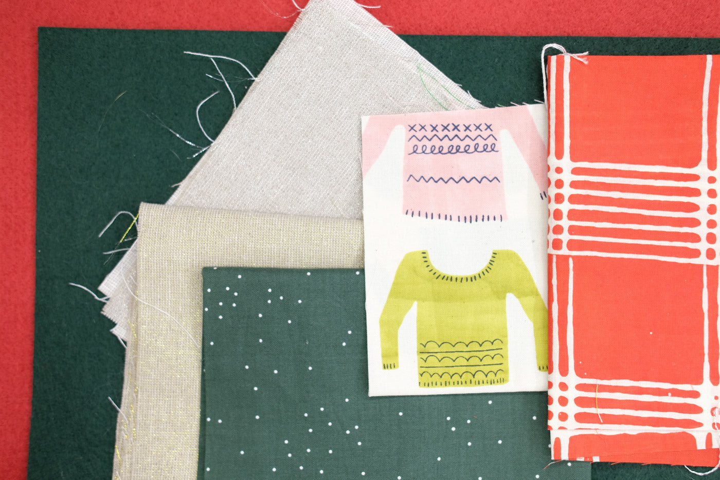 Fancy Advent Calendar fabrics