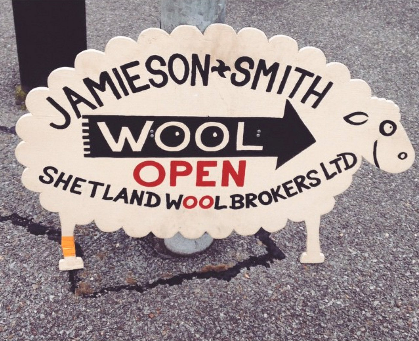 Jamieson and Smith store sign