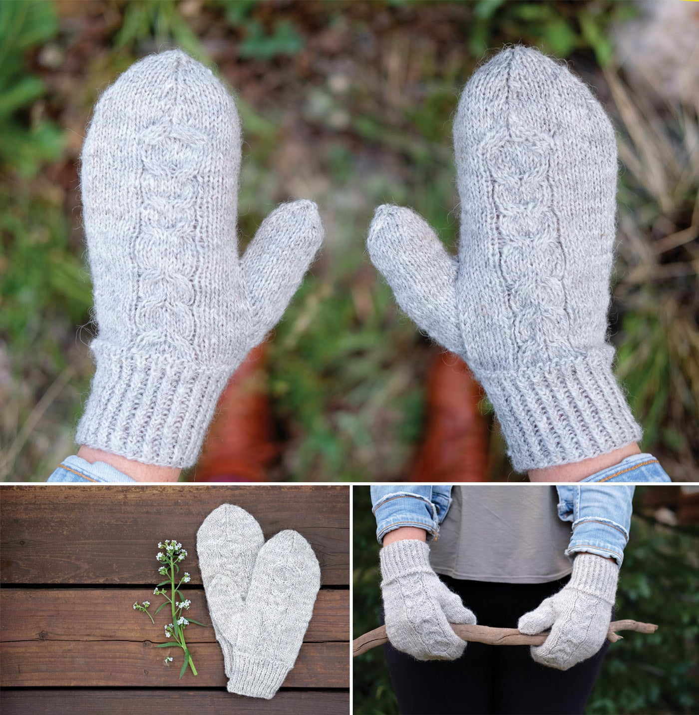 Friolero Mittens by Rae Gronmark for Yarn Along the Rockies 2018