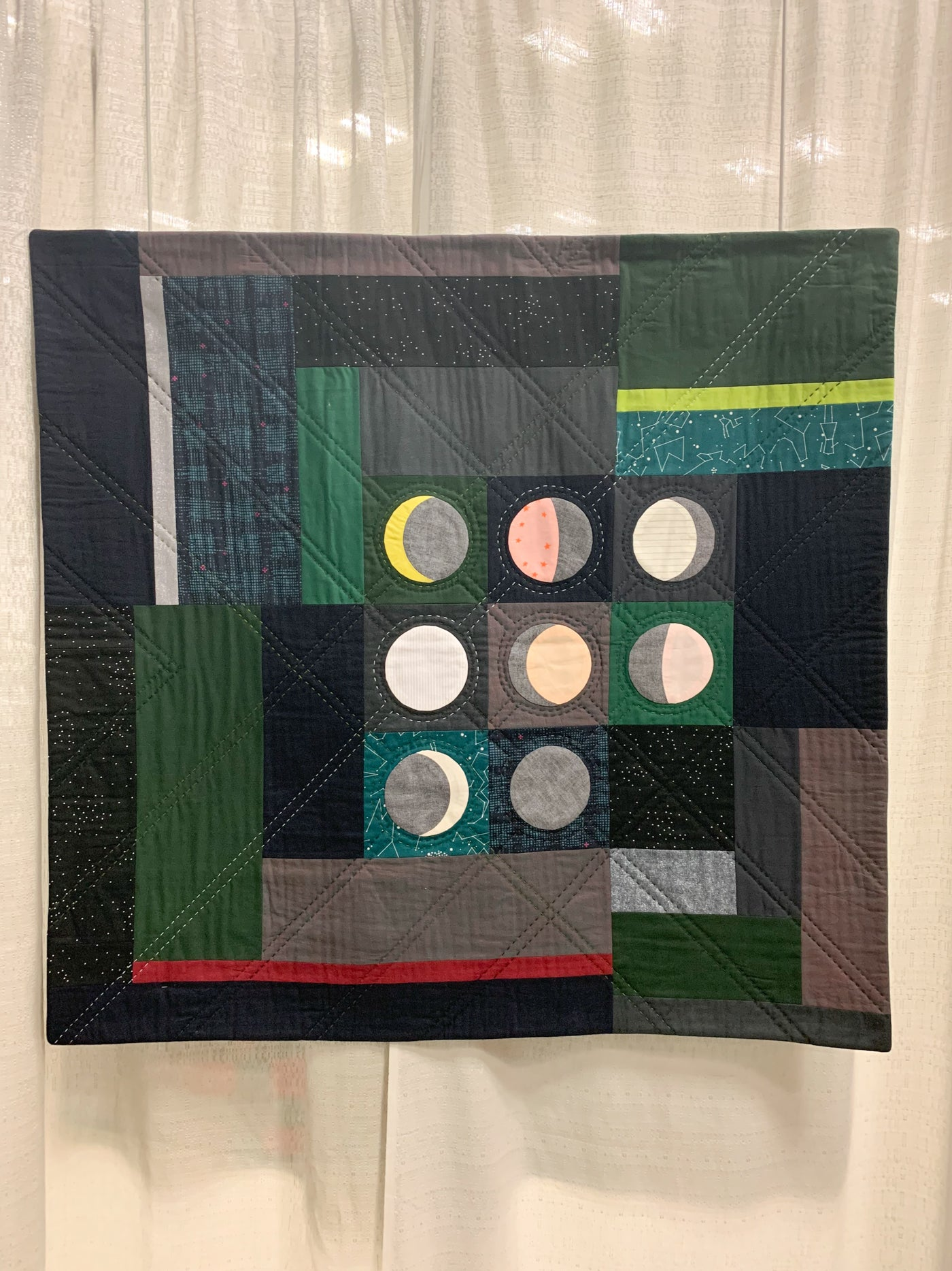 Moon Phases by Laura Loewen Quilt