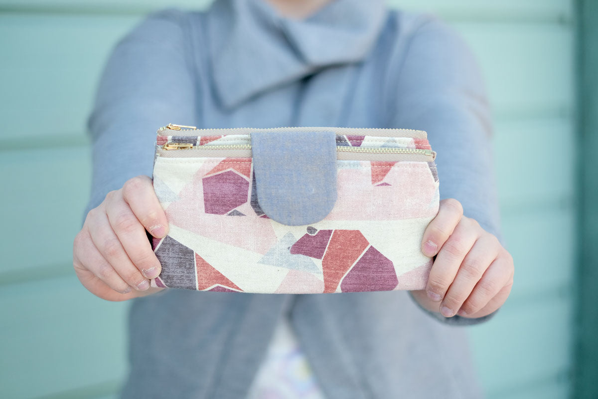 Crazy for Double Zip Wallets – Fancy Tiger Crafts - photo#31