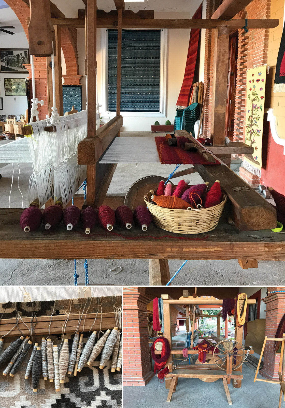 Weaving Studio in Teotitlan del Valle