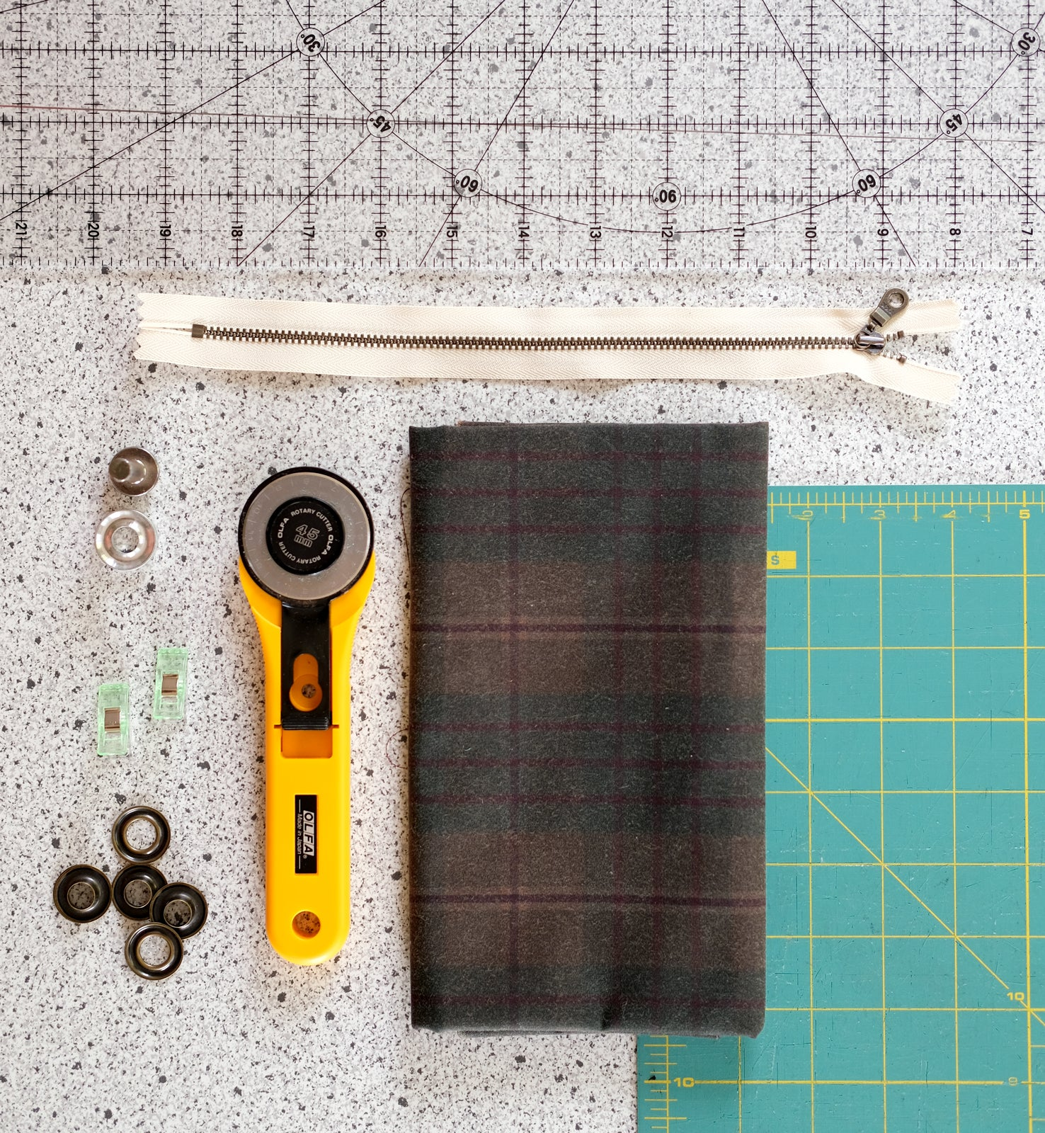 Pencil Pouch Materials