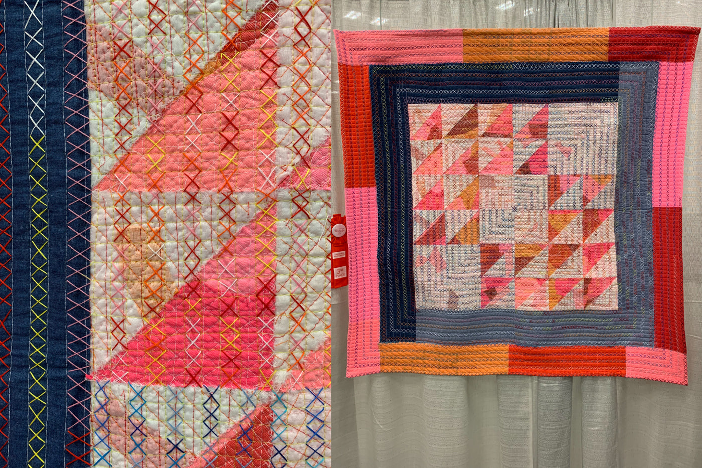 Problem Solved and Beautifully Flawed by Jean Broemel Quilt