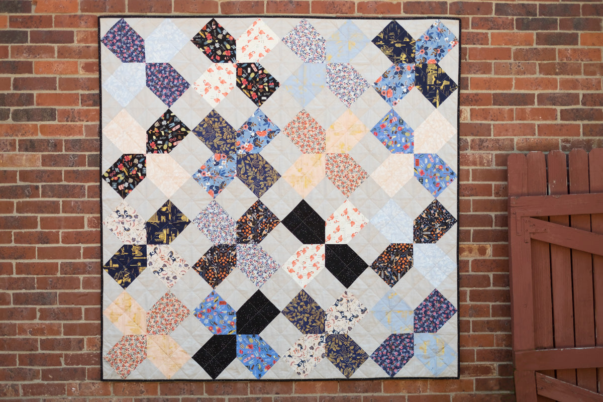 Caitlin's XOXO Rifle Paper Co. Quilt