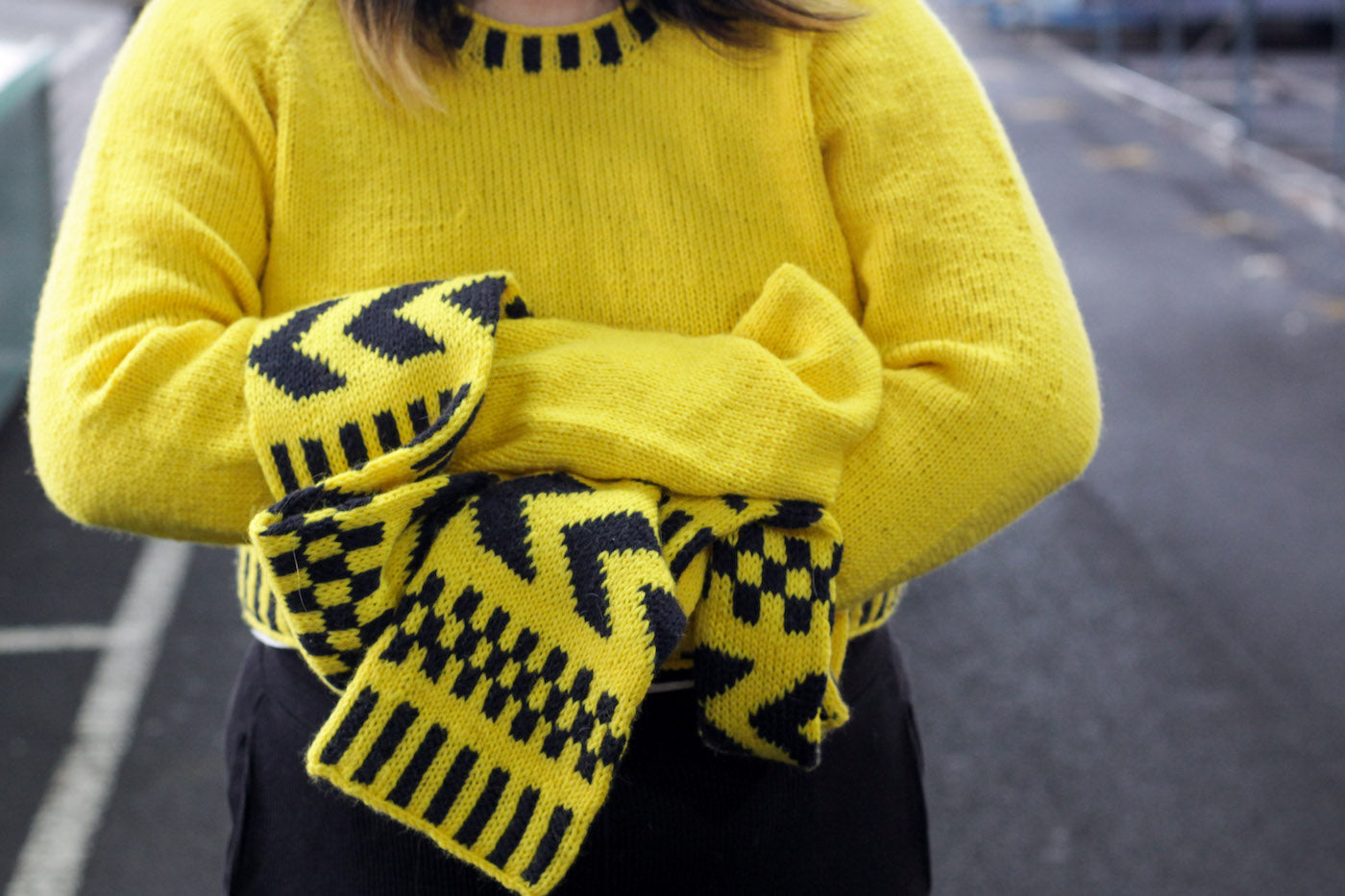 Yellow Safety Sleeves