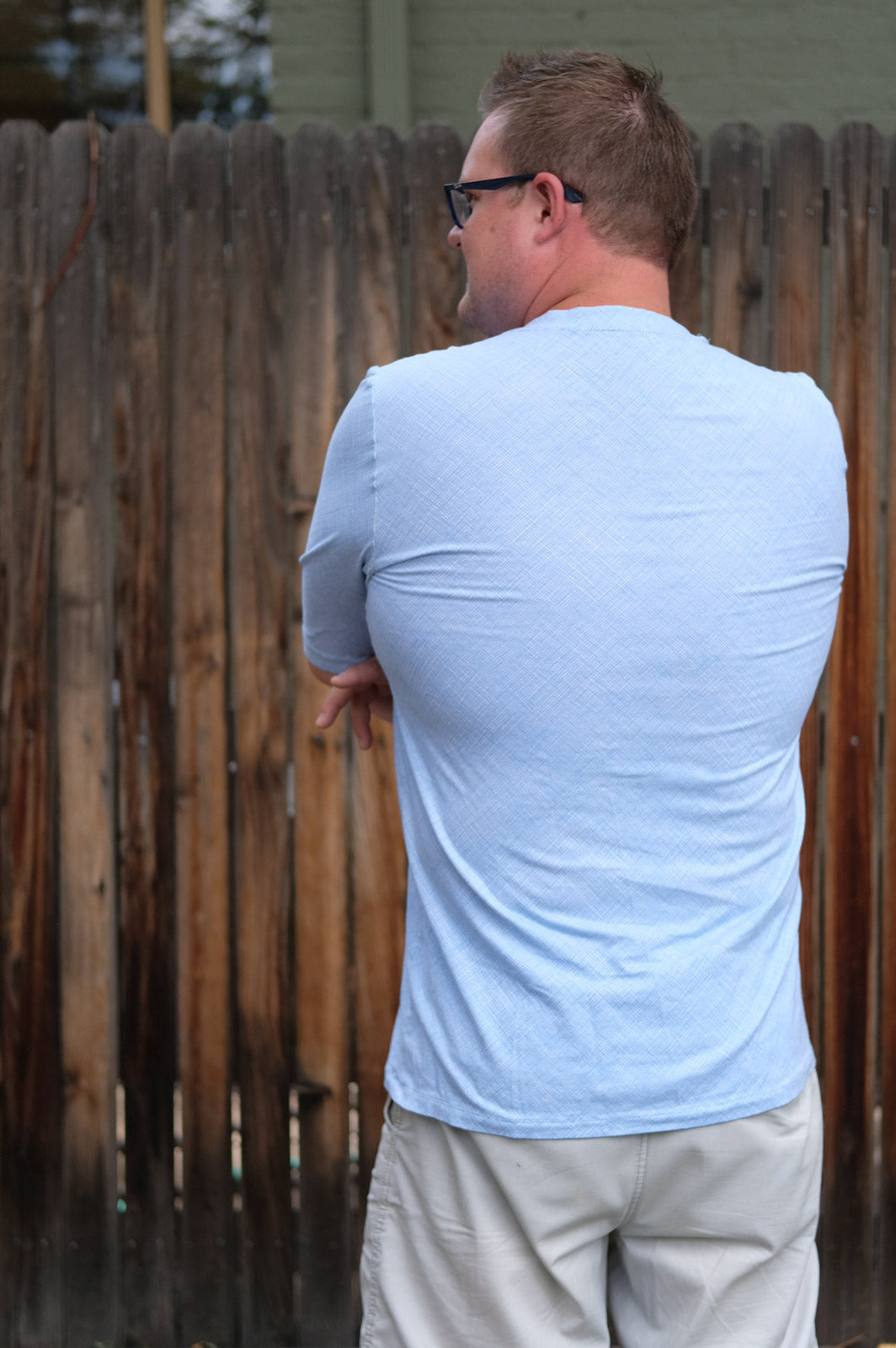 Back view of the Thread Theory Men's Tee