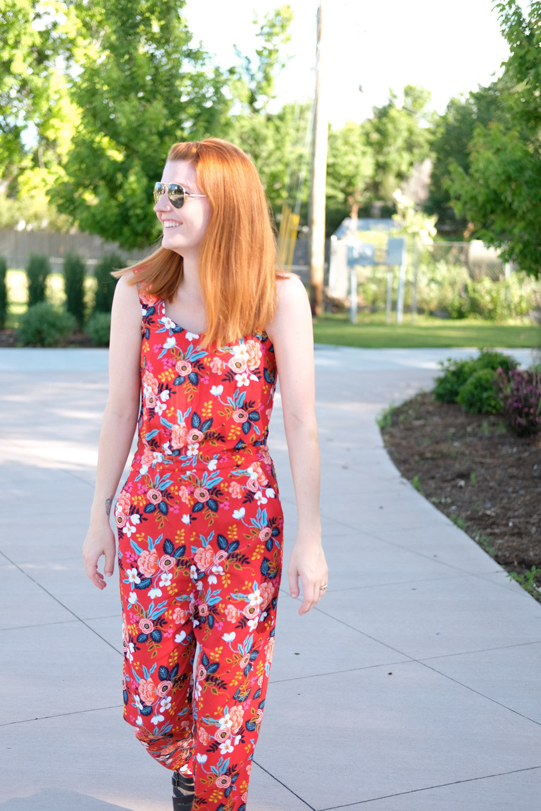 Lauren's Rifle Paper Co. Marigold Jumpsuit