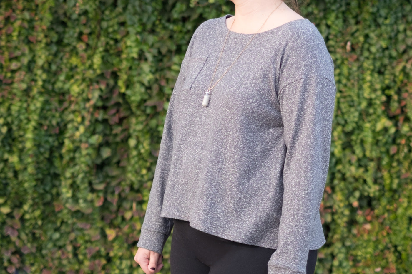 Finsihed Long Sleeve Wanderlust Tee with Cuff