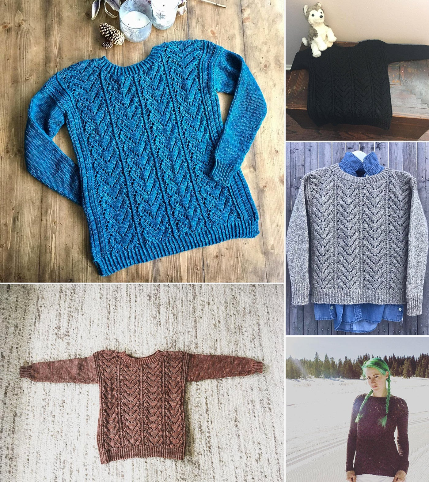 Best Finished Sweater Photo Runner-Ups
