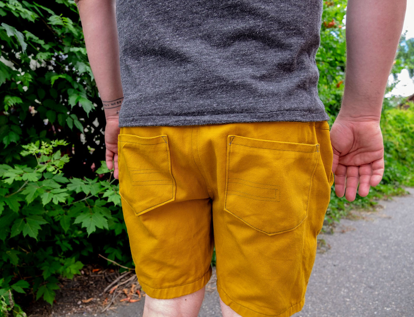 Bob's Hand Sewn Jedediah Pants as Shorts