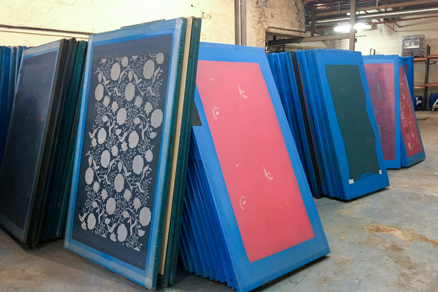 Flat Screens from Screen Printing