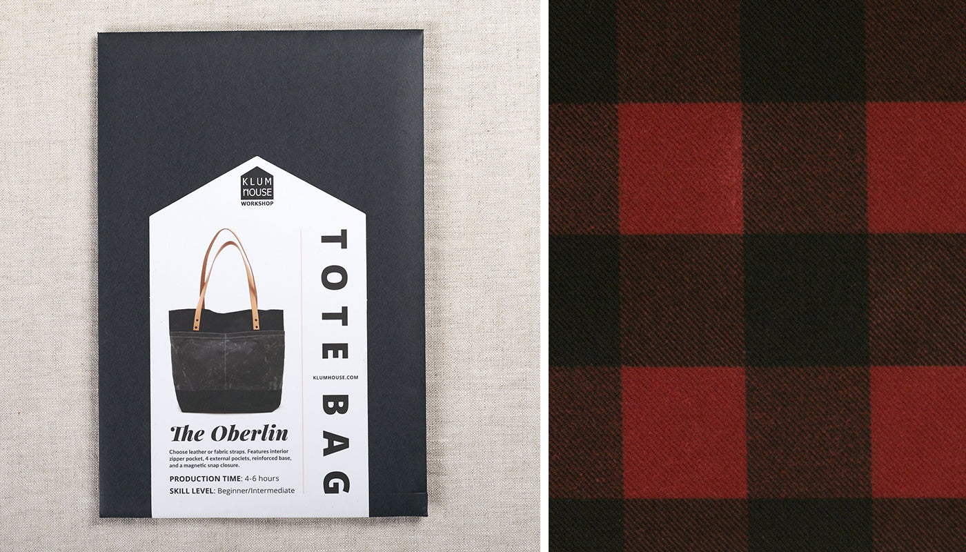 oberlin tote sewing pattern