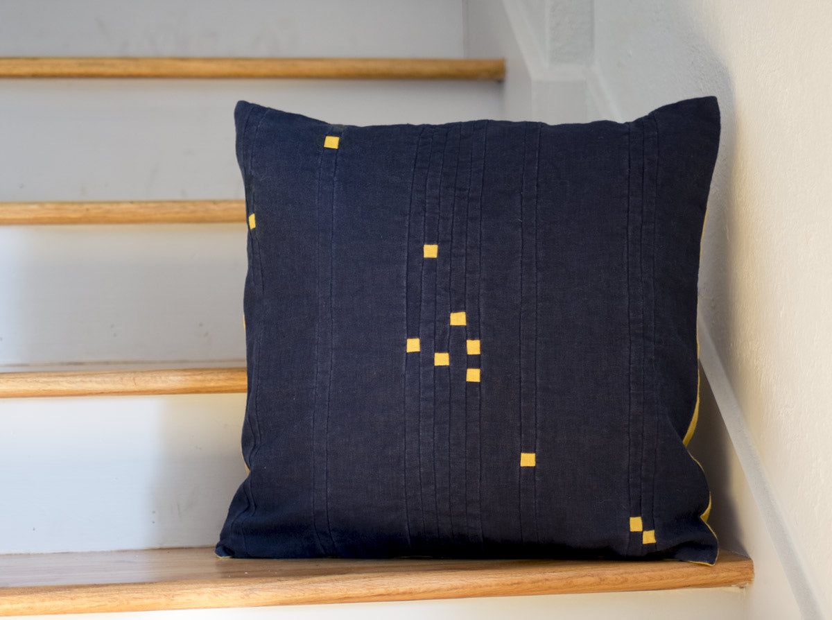 Constellation Block Pillow