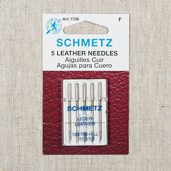 Schmetz Leather Needles 110/18