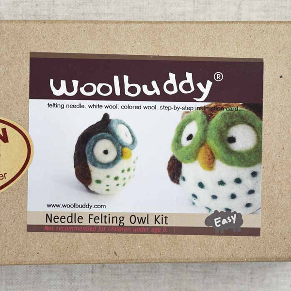 Owl Needlefelting Kit