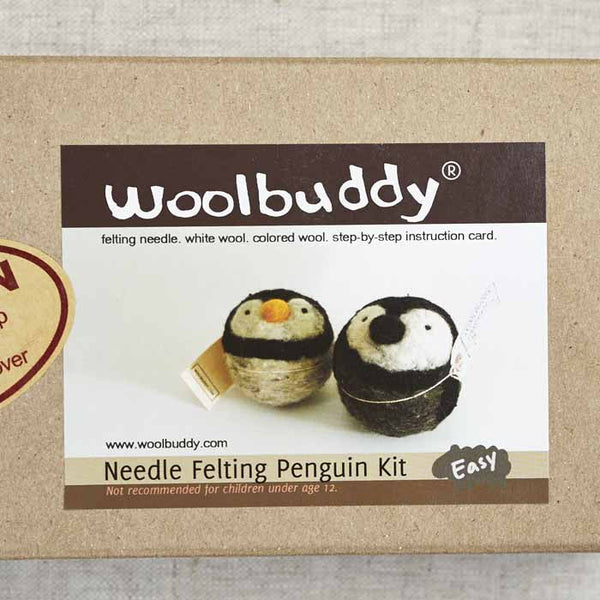 Penguin Needlefelting Kit