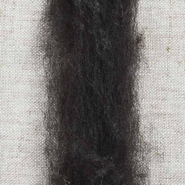 Shetland Roving Natural Black