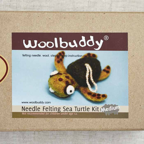 Sea Turtle Needlefelting Kit