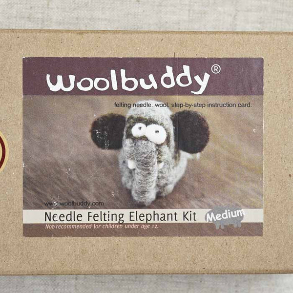 Elephant Needlefelting Kit