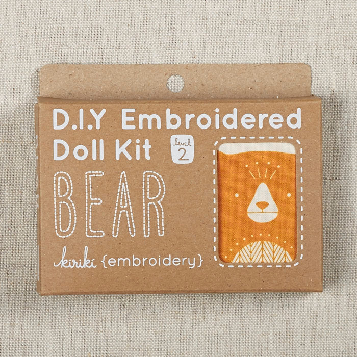 Embroidered Doll Kit