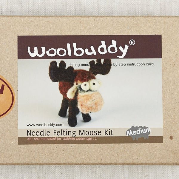 Moose Needlefelting Kit